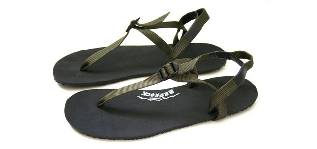 72115c713822 Earthquake Barefoot Running Sandals made in the USA with parachute straps  and a non slip recycled rubber heel - inspired by ancient tarahumara  huarache ...