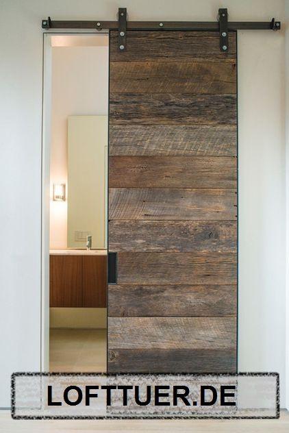 Sliding door fitting for your own sliding door – Lofttuer.de