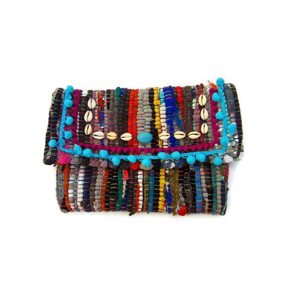 235bc45a75804 Boho Chic Envelope Clutch. Turquoise Embellished OOAK Kilimbag. Kourelou  Purse. Bohemian Clutch. Gift for Her. Kourelou Bag. Womens Gift