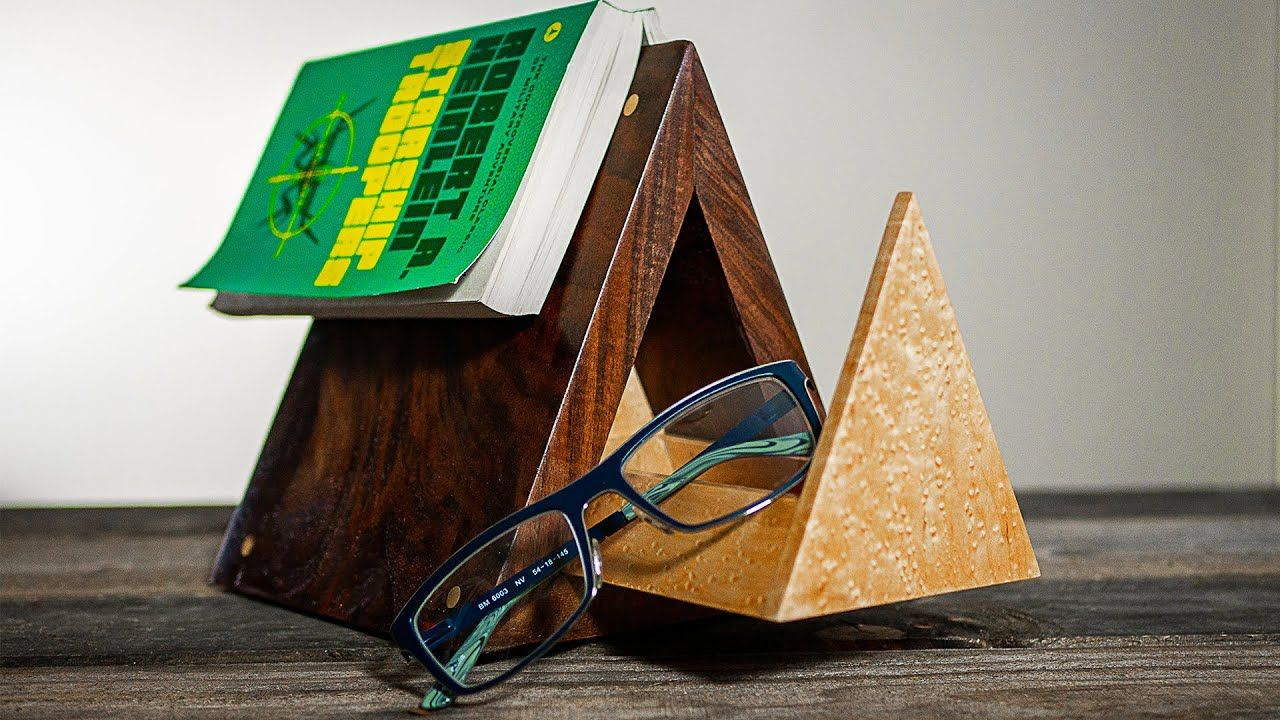 I Built The Ultimate DIY Book Holder https//youtu.be