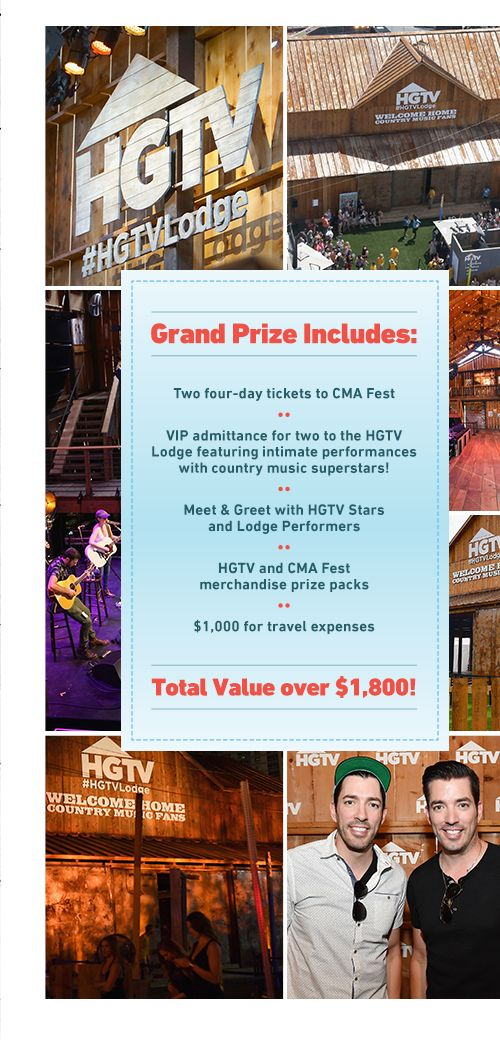 HGTV CMA Music Festival Sweepstakes Cma music festival