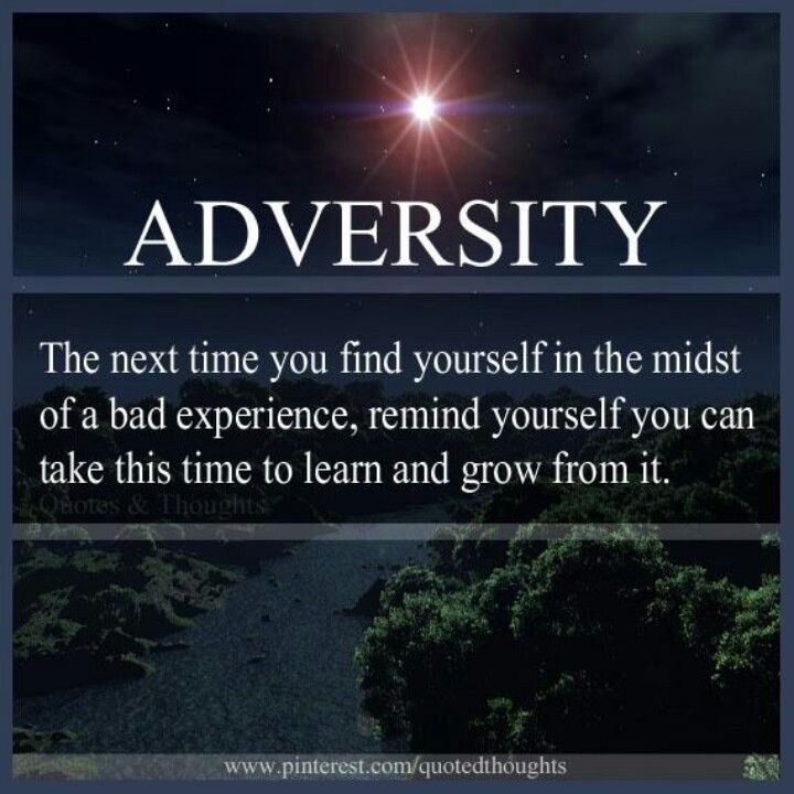 Adversity Adversity Finding Yourself Quotes