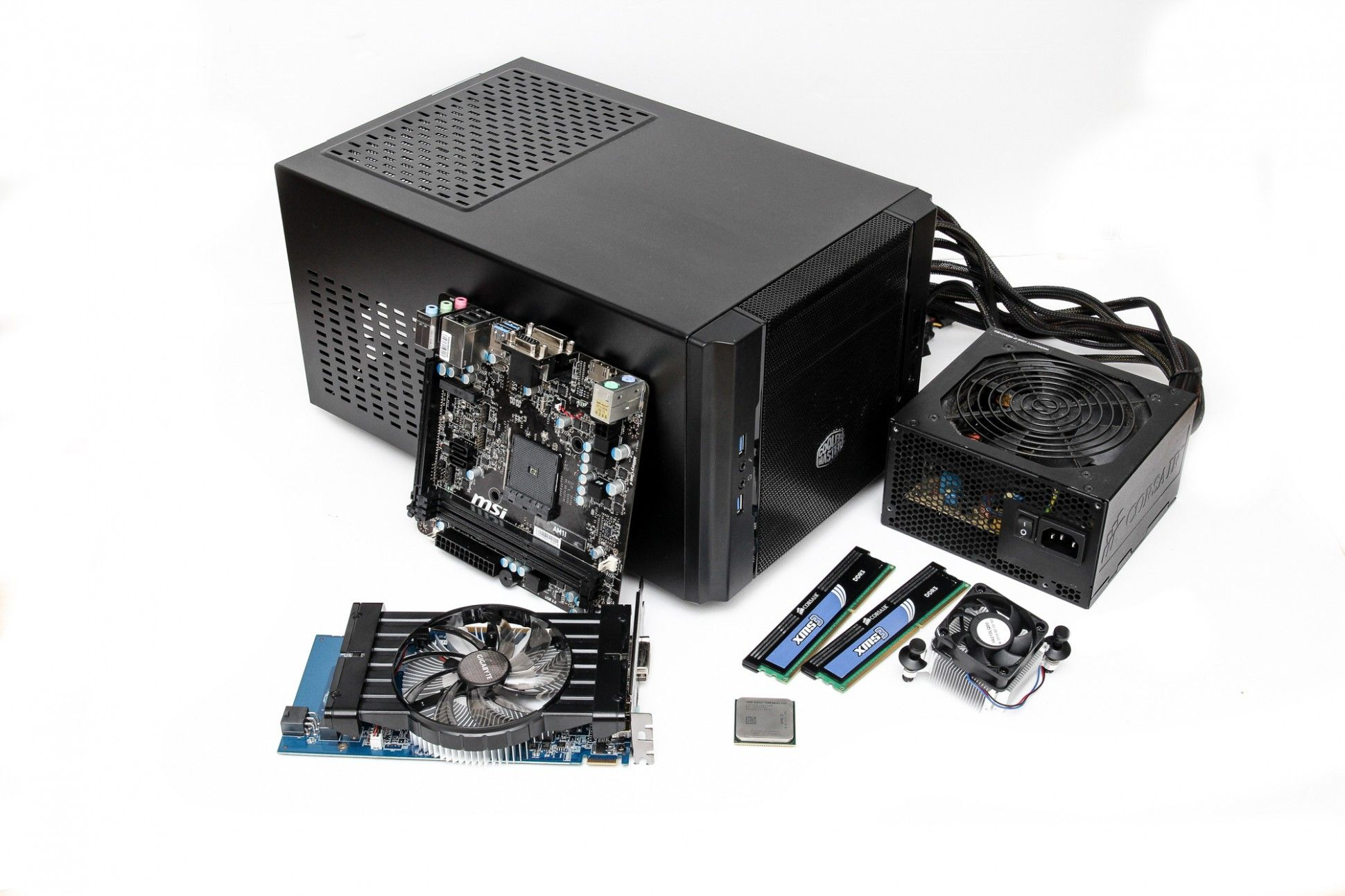 How To Build A 400 Home Theatre Gaming PC Theatre games