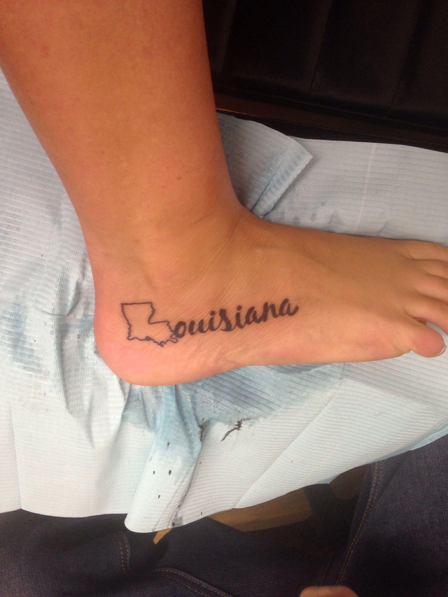 Louisiana Denmark Map%0A I just really want this as a tattoo   don u    t ask me why  But I do  My heart  belongs in Louisiana    Tattoo Ideas   Pinterest   Louisiana tattoo