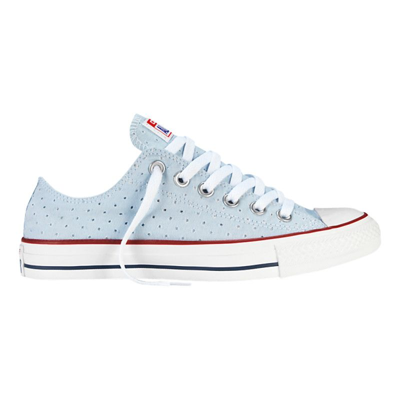 1ecde2cf7c66 Buy Converse All Star Chuck Taylor Canvas Summer Ox Low-Top Trainers ...