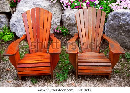 Awesome Skull Lawn Chair | Wooden Lawn Chairs With Arms Two Solid Wood Patio Chairs
