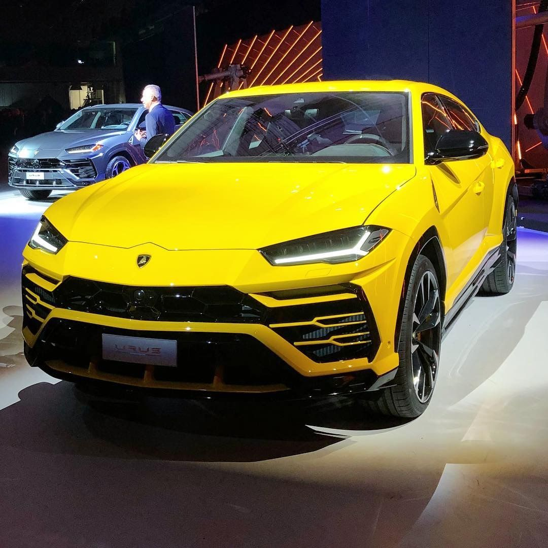 Here It Is The New Lamborghini Urus Looks Fantastic In The Yellow