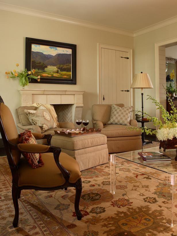 Dp-traditional Living-rooms from Elinor Jones, Designer on HGTV