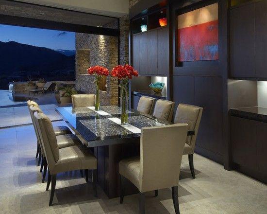 Comedor elegante moderno comedores hacienda jl for Comedores sobre diseno