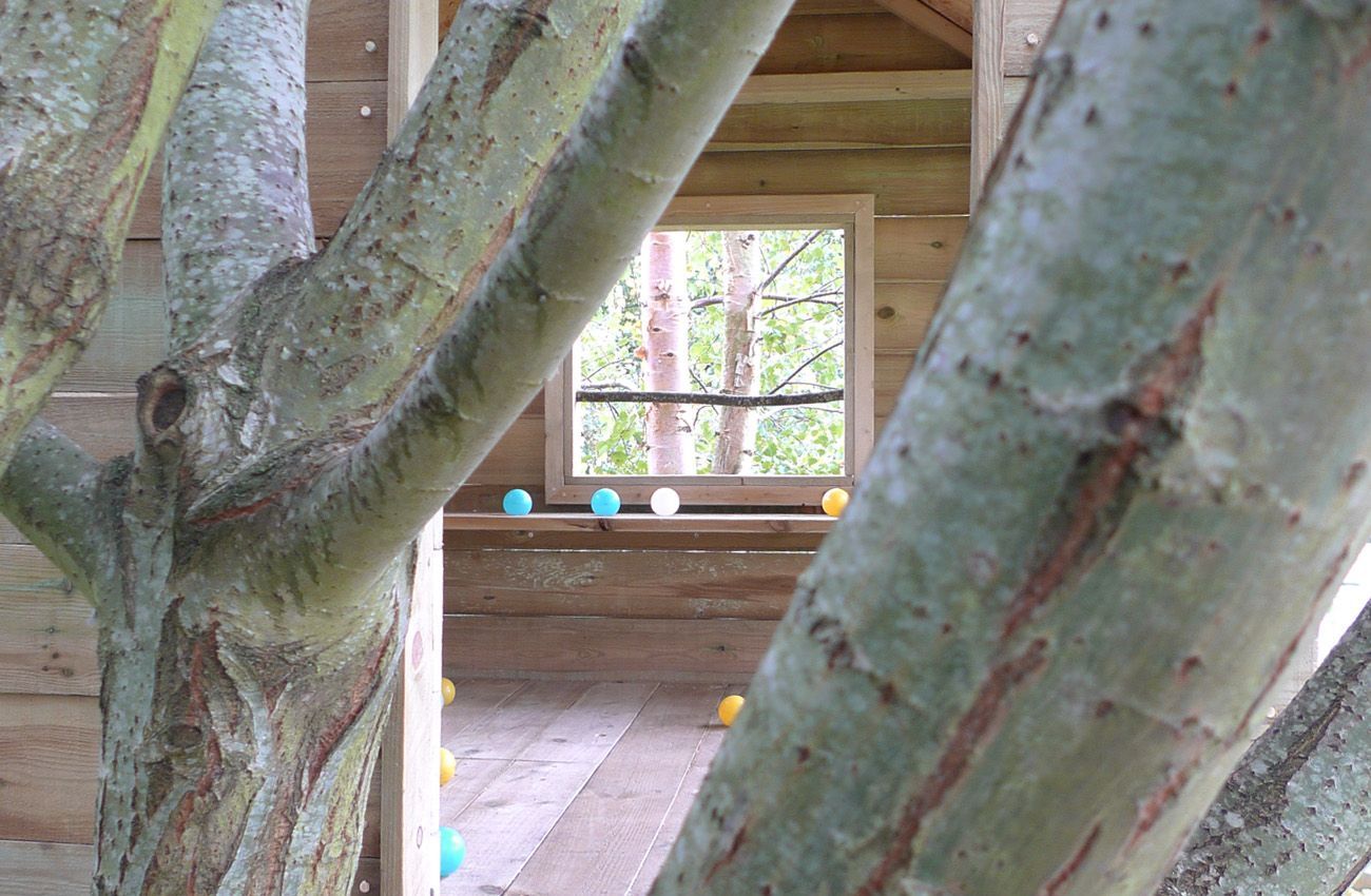 Cotswold tree house. Have it Made by waynemaxwell.com. #tree house #Cotswold's #Have It Made #tree fort #kids tree houses .