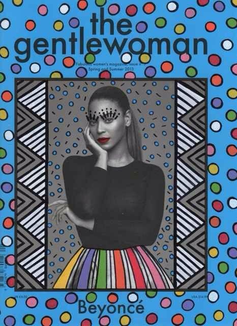 Beyoncé, Ana Strumpf re-cover magazine