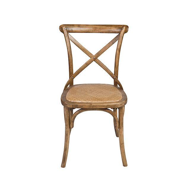 silla de comedor de madera y ratn aspa