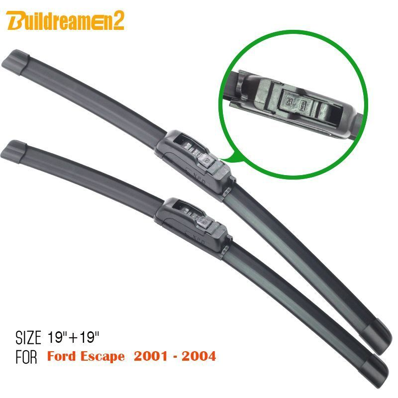 For Toyota Prius 2003 2009 Rear Windshield Wiper Arm Blade Set