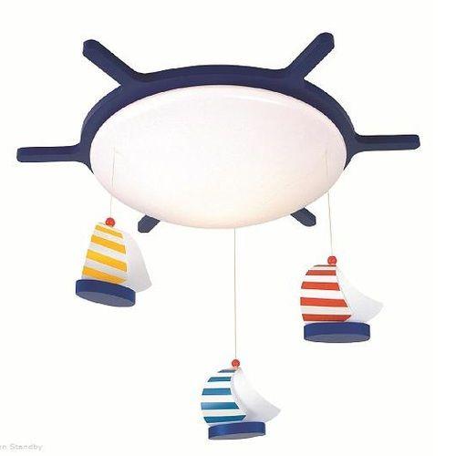 Deckenlampe maritim | Kinderzimmer | Lampe kinderzimmer maritim ...