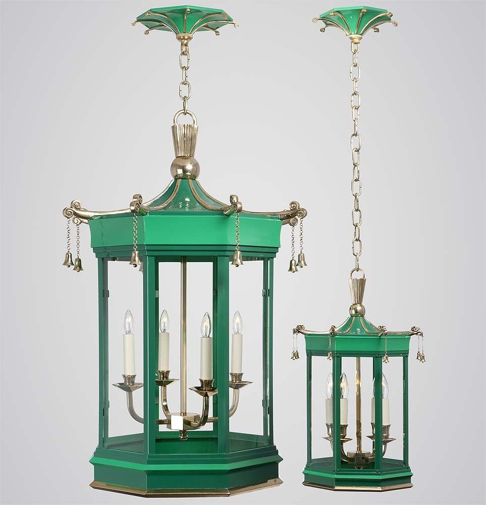 Charles Edwards Hanging Pagoda Bell Lantern HL 104 | Lamps ...
