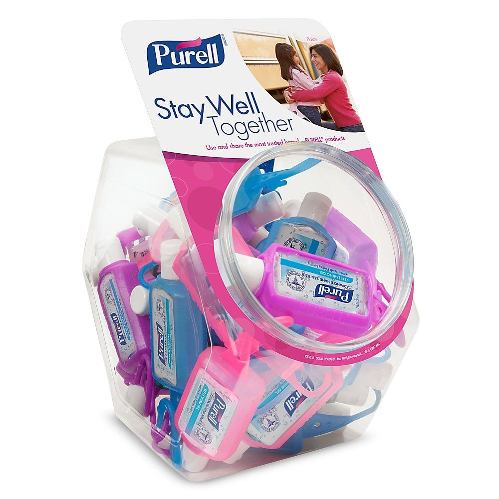 Purell Advanced Instant Hand Sanitizer Gel In Jelly Wrap Carriers