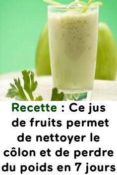 Recette : Ce jus de fruits permet de nettoyer le côlon et