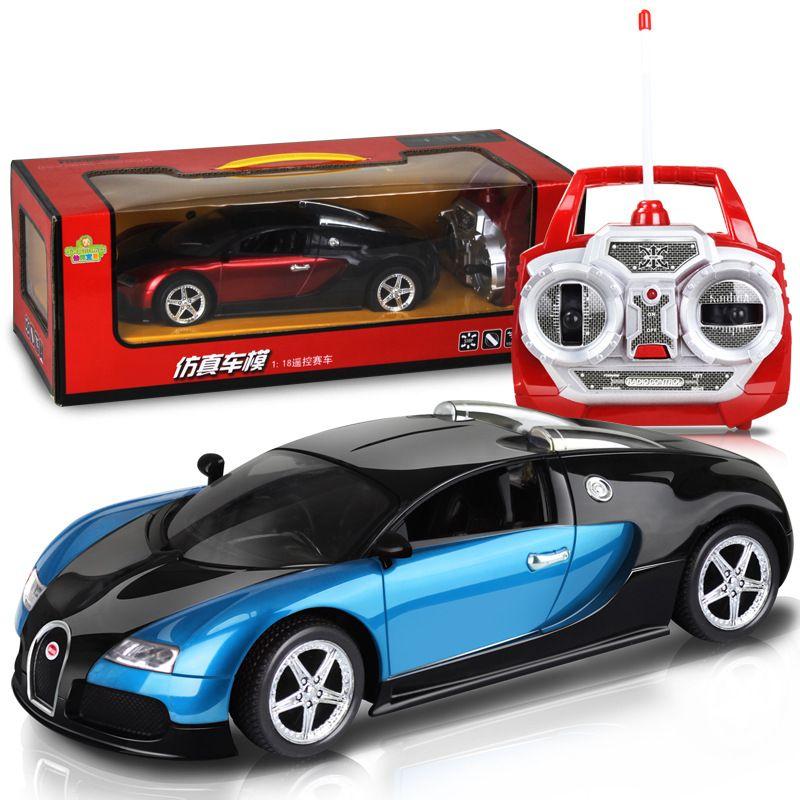 1 18 Bugatti Remote Control Cars Electric Charger Support Remote Control Cars Rc Car Rc Toy Remote Control Cars Bugatti Bugatti Veyron Super Sport