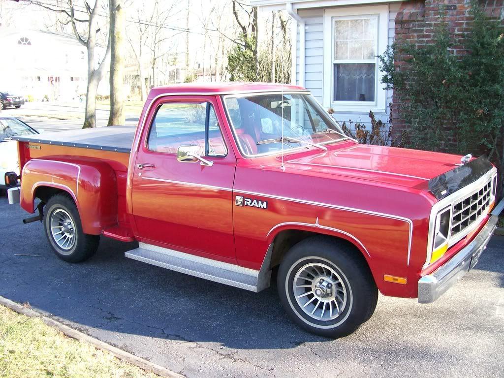 1984 Dodge Stepside Trucks 1985 Dodge D150 6,000