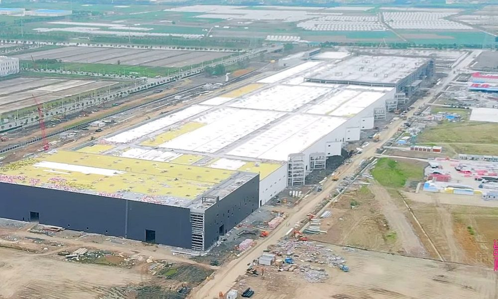 Tesla Gigafactory 3 complex enters initial tooling phase as