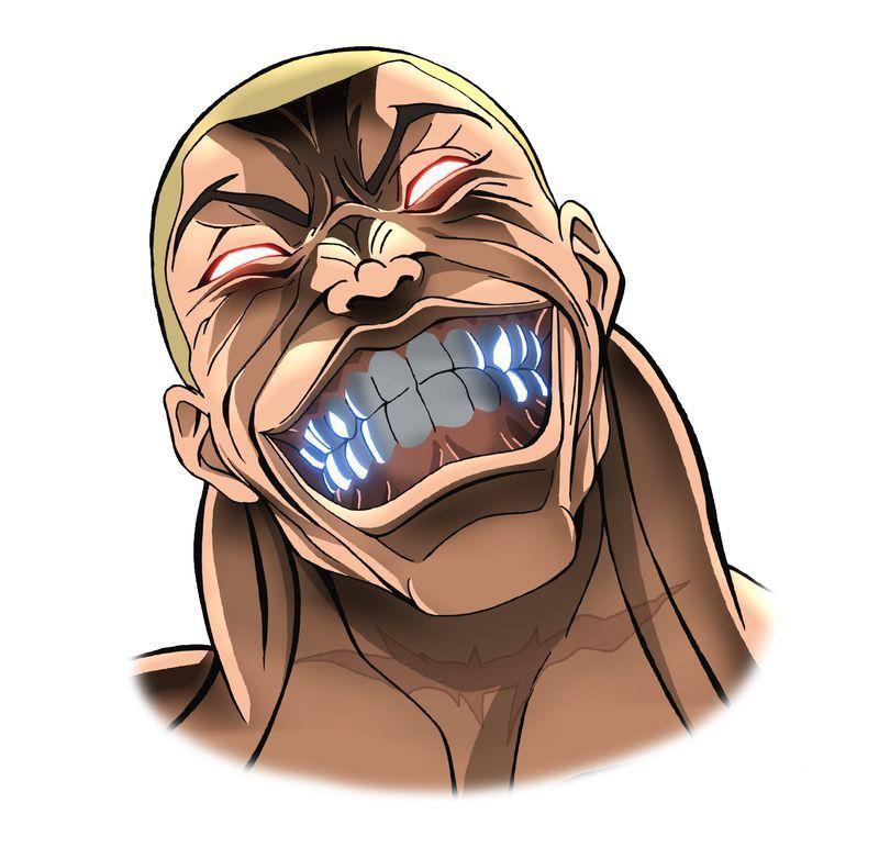 Manga Anime Baki 2018: Jack Hanma (VA: Kenta Miyake) From Anime Baki