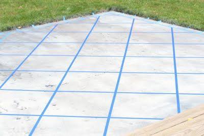 How To Paint A Patio Concrete Floor: Concrete Patio Paint Home Design  Ideas,Interior