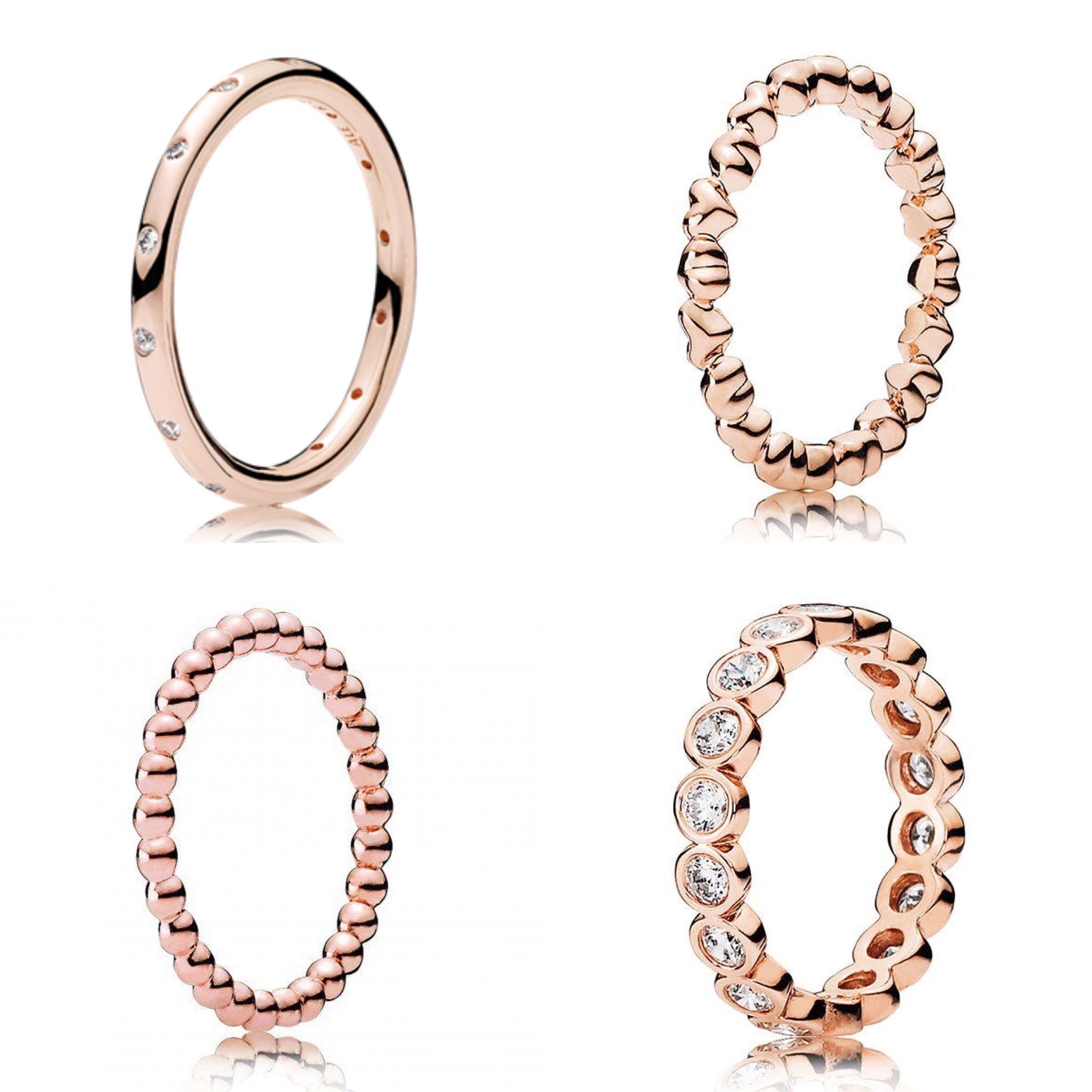 Pandora Rose Gold Rings   Things.I.Like  in 2019 ...
