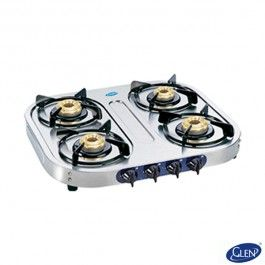 Glen Gl 1044 Stainless Steel Bb Gas Cooktop