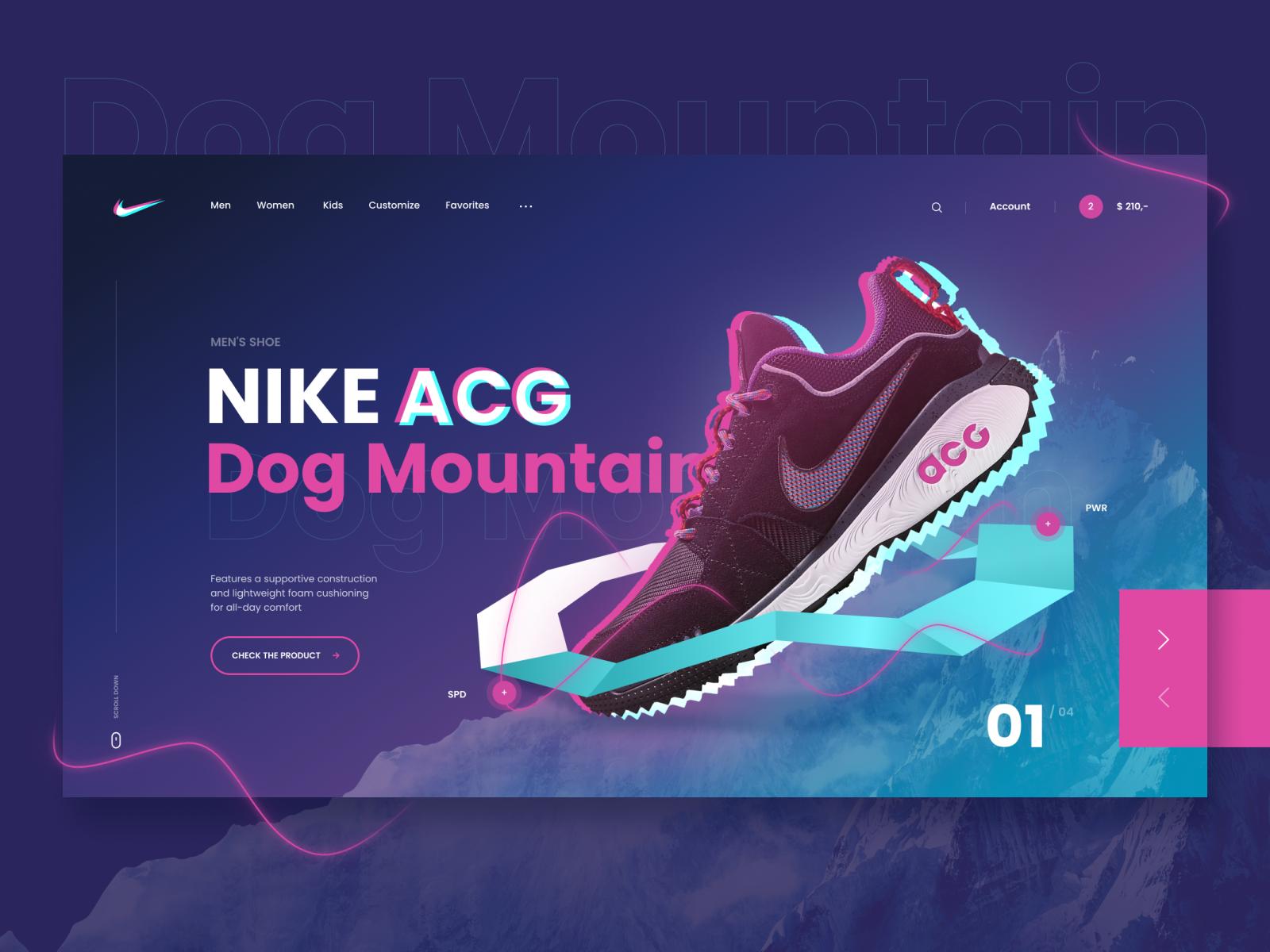 Fácil diseño Largo  Nike Dribbble | Nike web, Nike acg, Nike