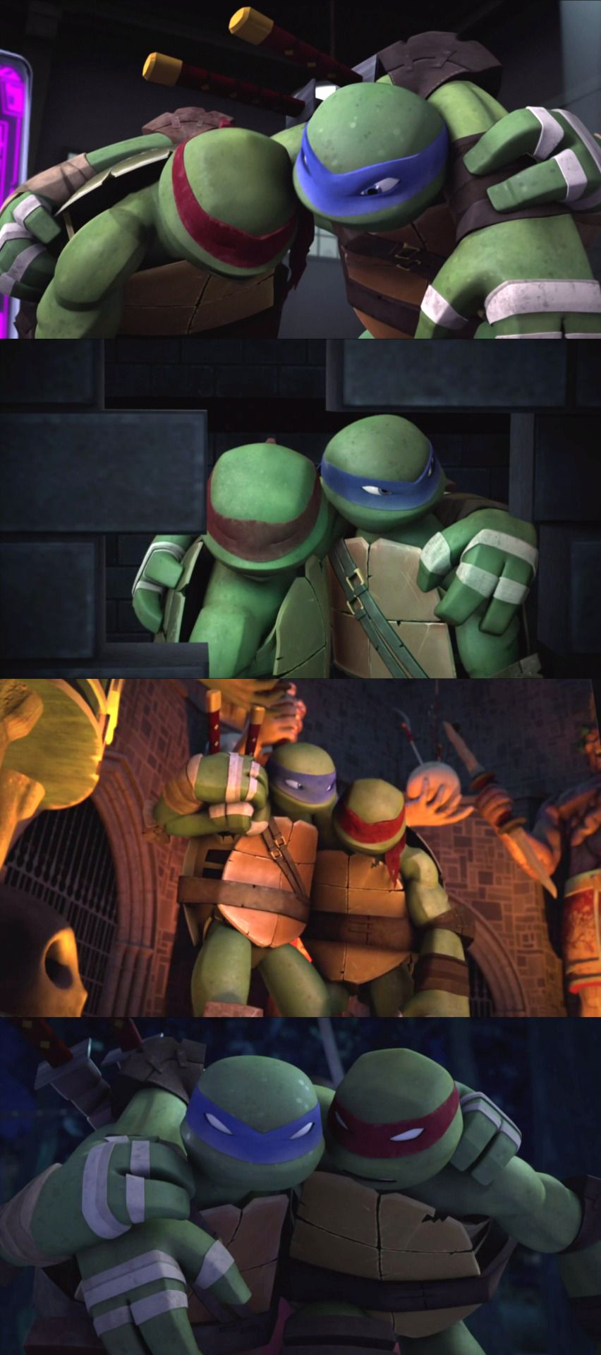 Leo x Raph bro moments | TMNT | Ninja turtles funny, Tmnt