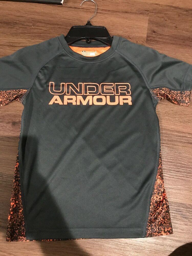 Under Armour SHORT SLEEVE SHIRT BOYS SIZE 4//5//6//7 NWT