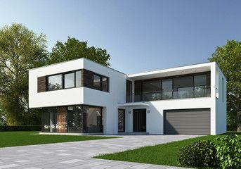 Haus Kubus Tag 3 Haus bauen, Schlüsselfertige häuser, Haus