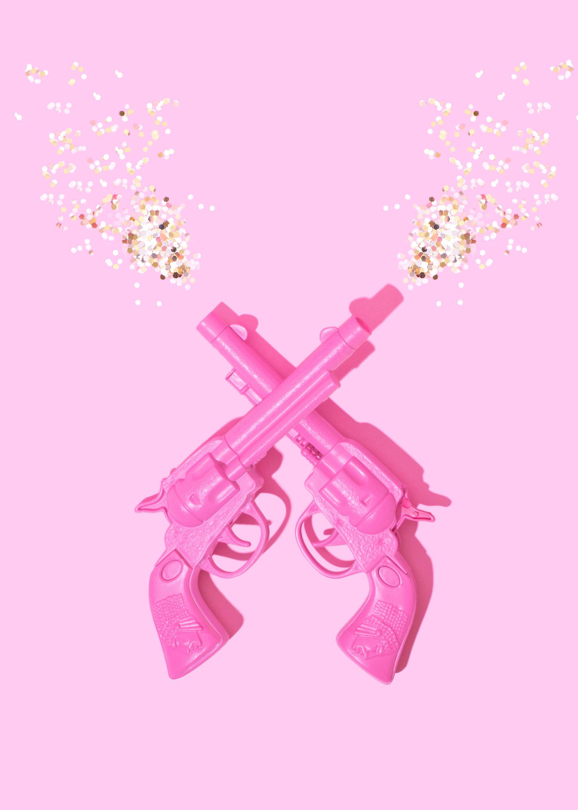 Pink Girl Aesthetic Wallpaper
