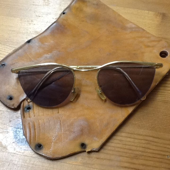 1980's Vintage Sun glasses made in England for H