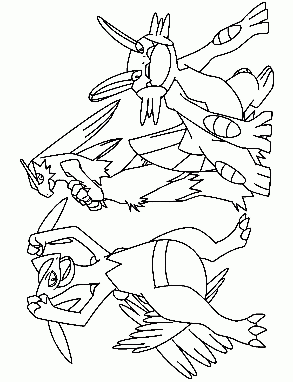 Mega Pokemon Printable Coloring Pages Coloring Page Mega Evolved