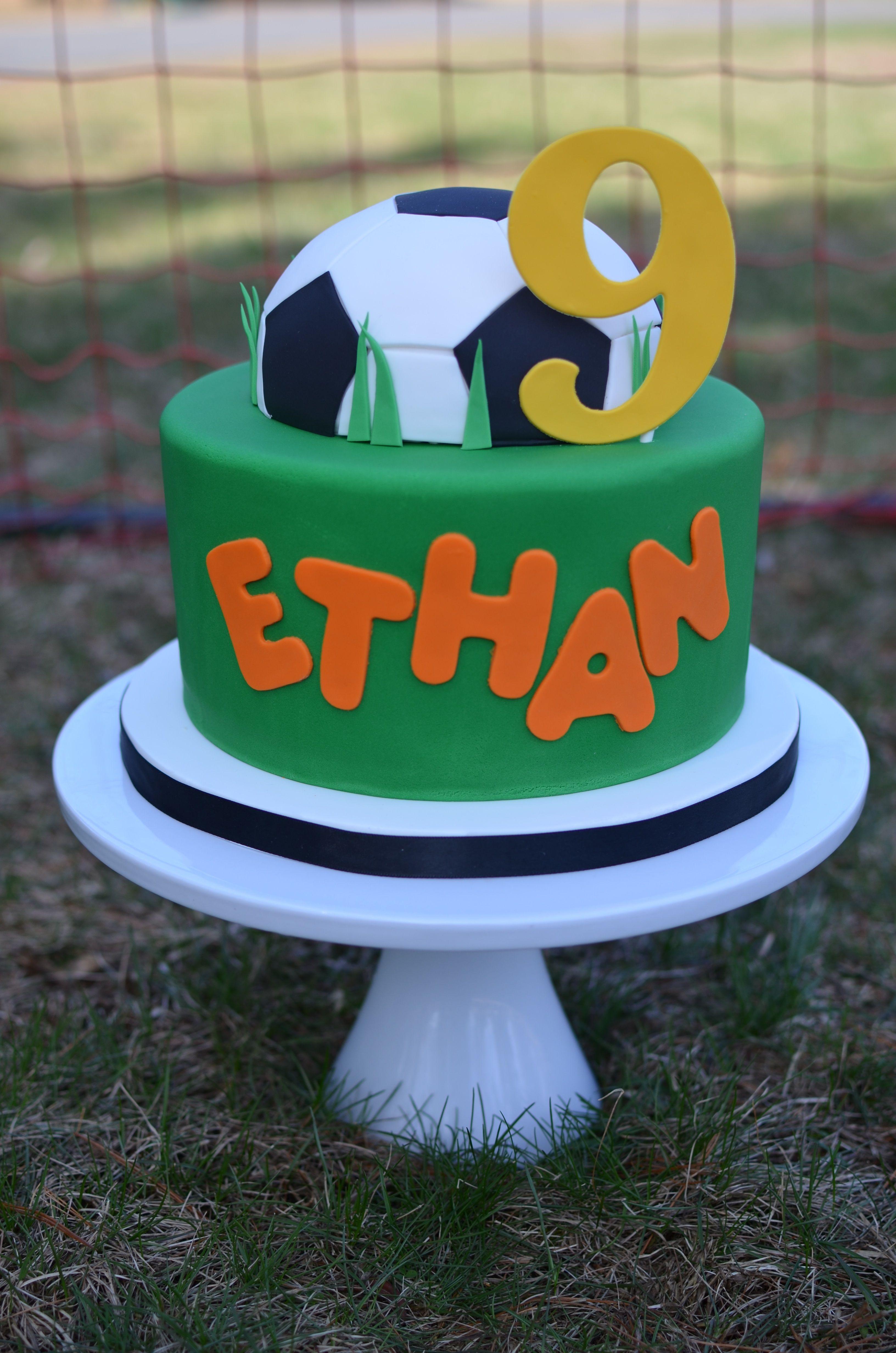 soccer birthday cake images