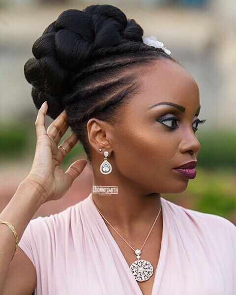 Wedding Hair Styles For Natural African Hair