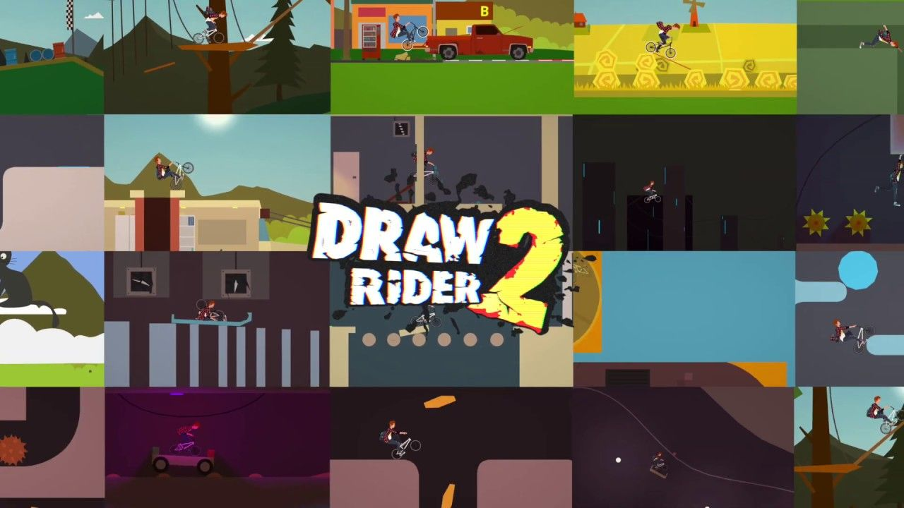 Draw Rider 2 Came Out Of Early Access In Steam Gamer News