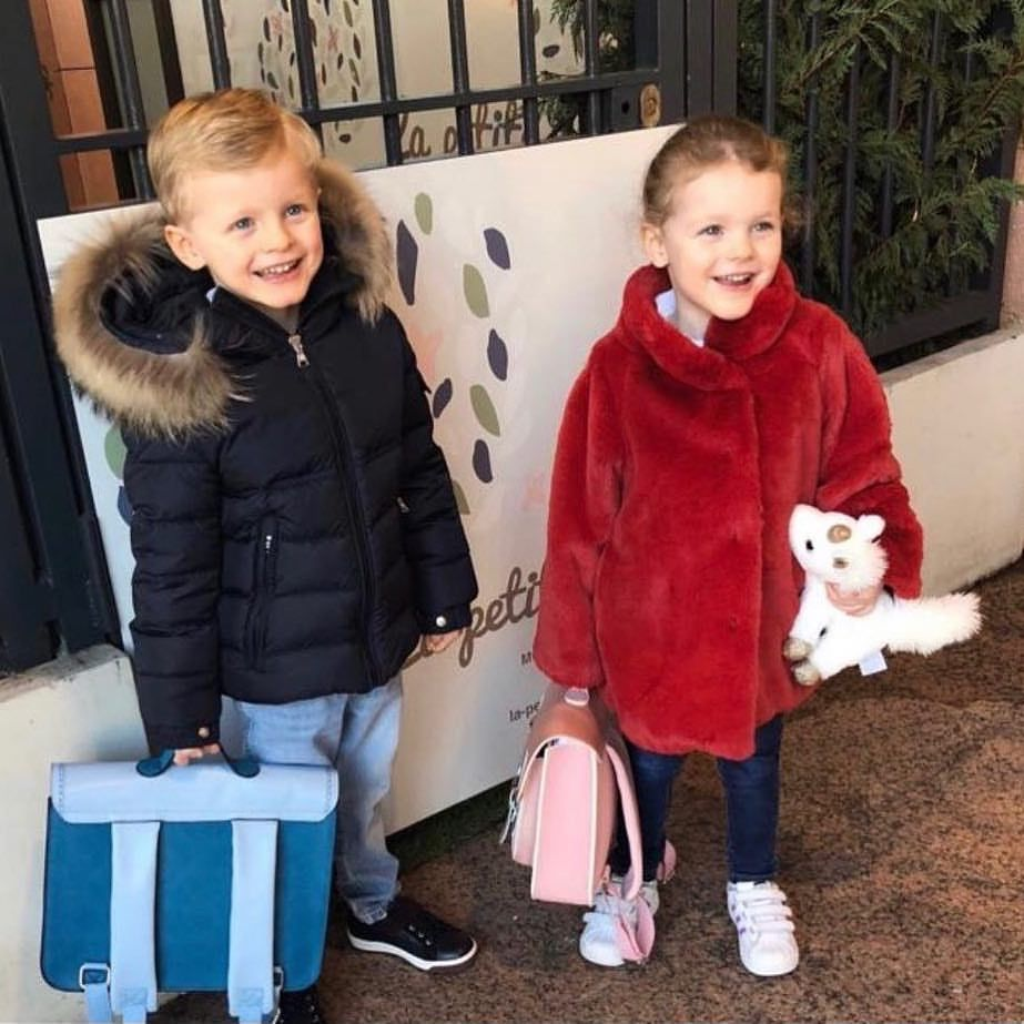 Princess Charlene of Monaco posted this photo of her twins