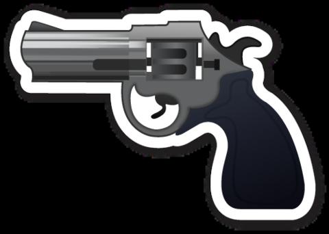 Pistol Emoji Emoji Stickers Pistol