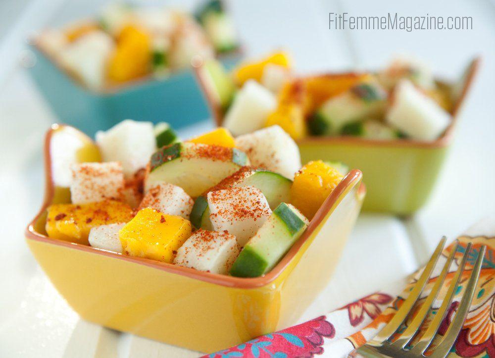 Ensalada de Fruitas con Pico de Gallo Recipe