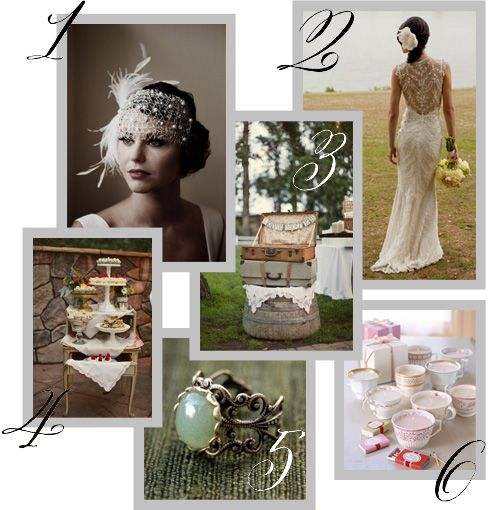 Ideas para tu boda Vintage