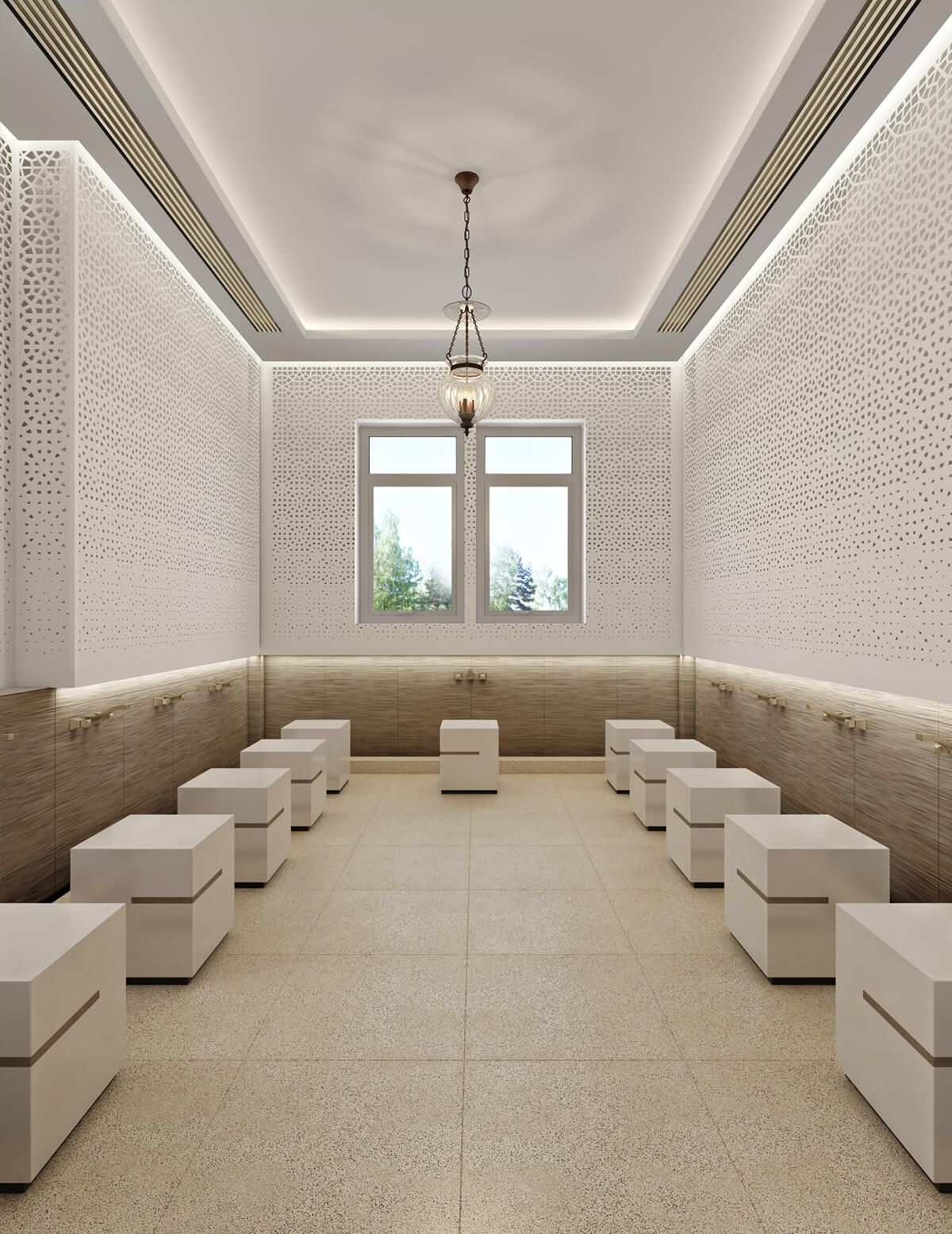 Leicester Modern Islamic Mosque Interior Design 17 A Seamless Combination Of Traditional Mosque Design Islamic Architecture Mosque Design Mosque Architecture