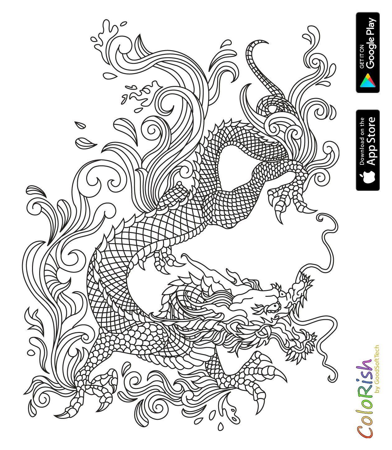Pin de Barbara en coloring dino, dragon | Pinterest