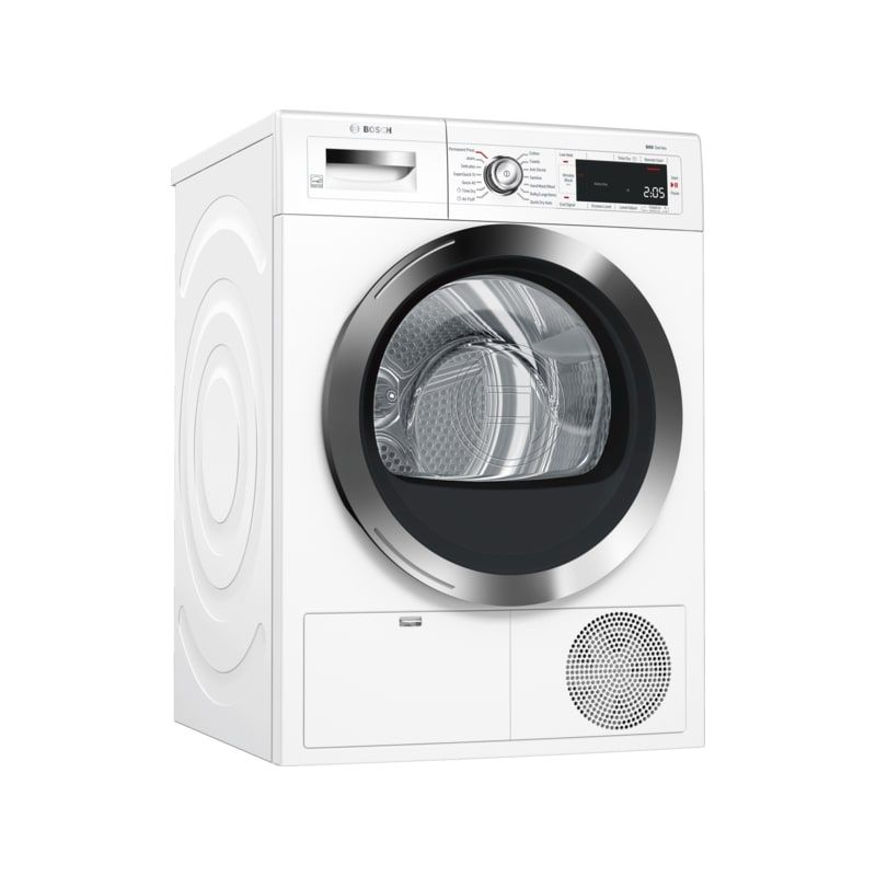 Bosch Wtg865h2 24 Inch Wide 4 0 Cu Ft Energy Star Rated Ventless Electric Drye White Dryers Dryer Electric Energy Star Dryer Home Appliances