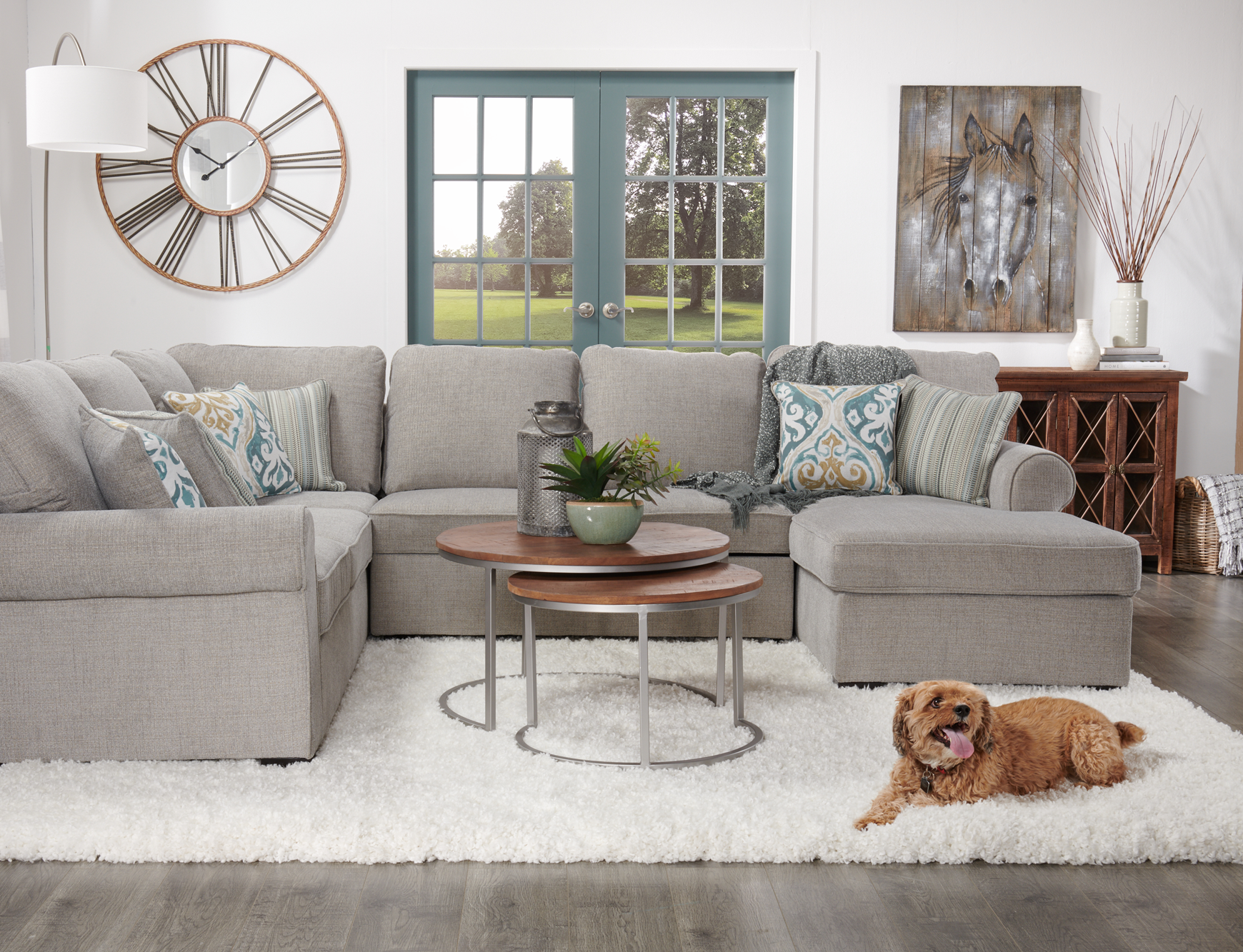 Turn Your Sectional Into A Sleeper Sofa For Guests Grey Sectional Rooms To Go Storage Chaise