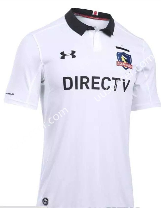 9a45763db 2017-18 CD Colo-Colo Home White Thailand Soccer Jersey AAA   Cheap ...