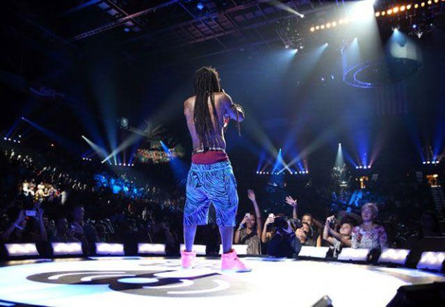Lil Wayne Wearing Supra Skytop II