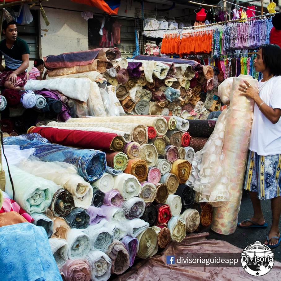 fa21fc6b892 There are a lot of  retail and  wholesale  stores (streets and actual stores)  in  Divisoria like Azcarraga Textile Market ...