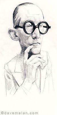 Le Corbusier: David Malan.